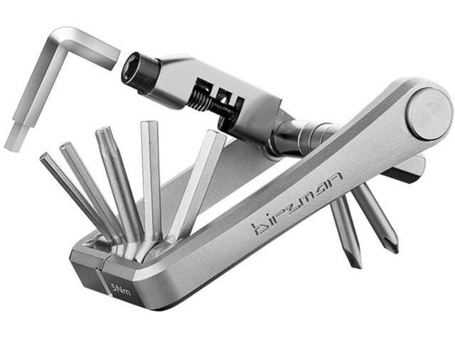 Birzman M-Torque Outil multifonction 10 fonctions, silver
